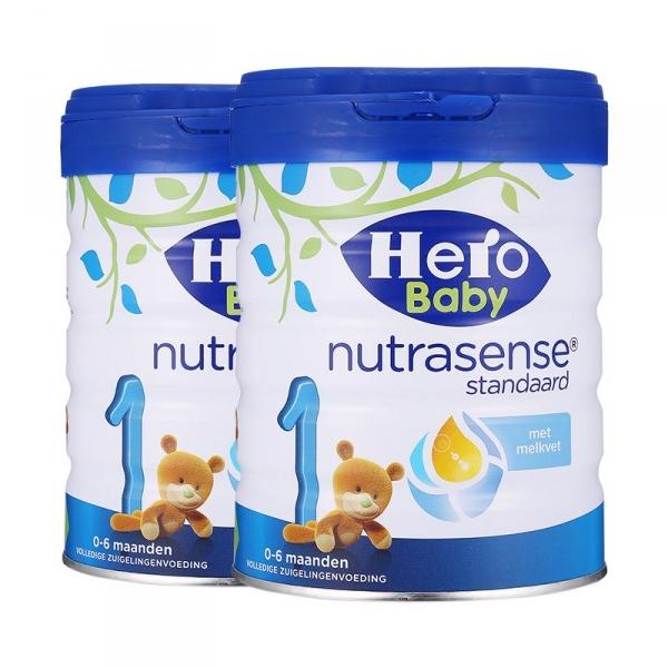 荷兰Hero Baby美素白金版奶粉1段 800g【2罐起发】