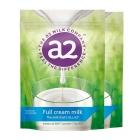 新西兰A2  袋装高钙全脂高蛋白儿童学生成人奶粉1kg【2袋起发】